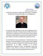 Boletín de Prensa - Conferencia Episcopal Ecuatoriana